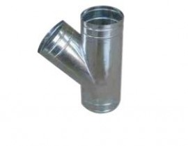 Tê ống gió tròn